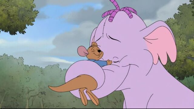 File:Pooh's Heffalump Movie - Roo is Hugged by Lumpy.jpg