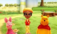 DMW2 - Piglet Winnie the Pooh and Mii