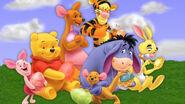 Pooh Wallpaper - Cast HD