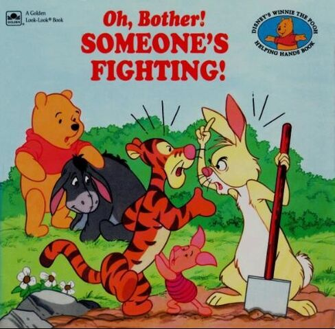 File:Oh, Bother! Someone's Fighting Cover (Older).jpg