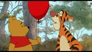 Tigger found out the red balloon is his sidekick