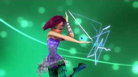 Winx Club Tecna Sirenix 3D! Official Transformation! HD!
