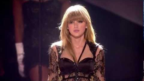 Taylor Swift 'I Knew You Were Trouble' I BRITs 2013 I OFFICIAL - HD-0