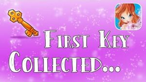 I just collected MY FIRST KEY - Winx Club Butterflix Adventures!