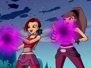 Sally & Darma attack - Episode 415