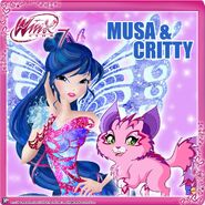 Winx Club - Musa and Critty