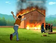 Mr. Baston - Burning Farm