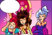 Villania, Rospunda, Cordelia - Comic 42