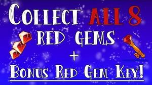 I just collected 8 RED GEMS GEM KEY - Room 1 Butterflix Adventures