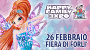 Winx Club - Le Winx volano all'Happy Family Expo!
