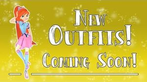 New Outfits Coming soon to Winx Club Butterflix Adventures!