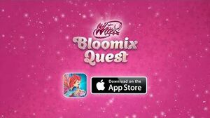 Winx Bloomix Quest iPhone and iPad app trailer