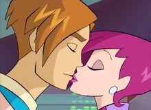 Tecna & Timmy's First Kiss