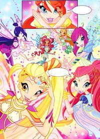 Nex's Test The Winx transform 2