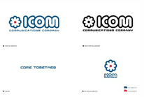 ICOM logo variations