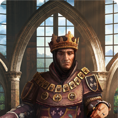 Foltest's gwent card art gold level
