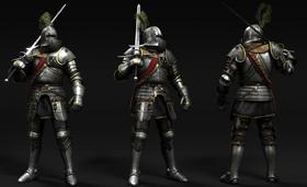 Tw3 Temerian Knight