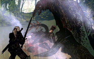 Flashback Screenshot Geralt-Letho-Slyzard