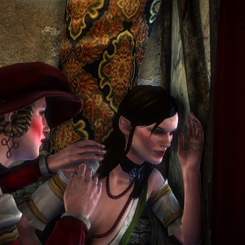 Peeping at Triss and Dethmold