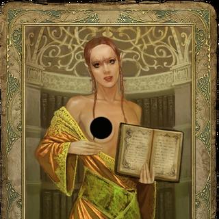 a half-elf's romance card