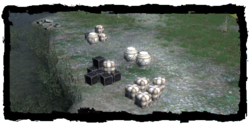 Las cajas de Haren, junto al río