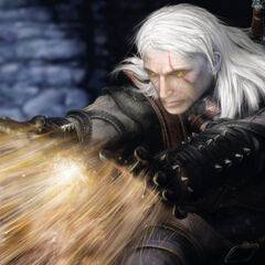 Geralt concept art.