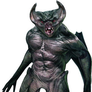Fleder — a lesser vampire (cutout)