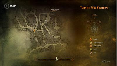 Catacombskey-map