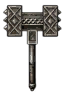 Weapons Mahakaman battle hammer