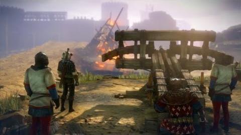 Sniper Geralt Proper way to shoot ballista