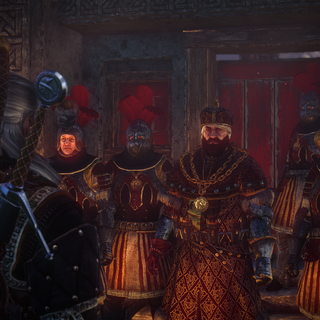 King Henselt and his guards