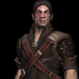 Ескель, рендер з гри «Відьмак»