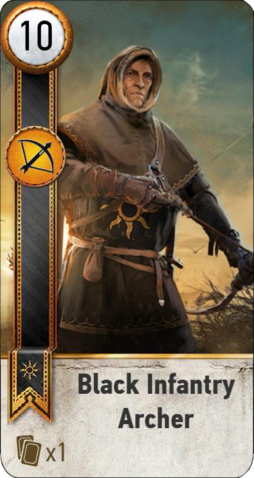 File:Tw3 gwent card face Black Infantry Archer 1.png