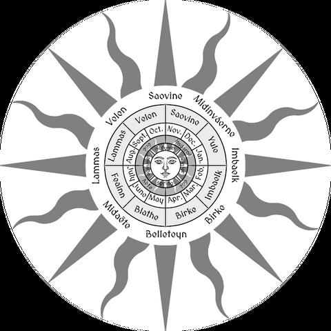 Cult of Great Sun is associated with the solar calendar