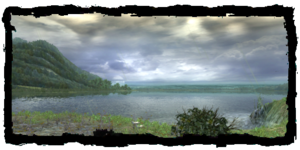 Lago Vizima visto dall'Antico Castello