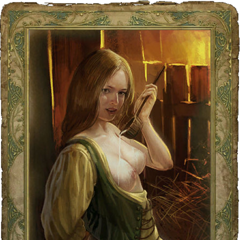 Wieśniaczka - sex karta.