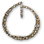 Tw3 gold pearl necklace