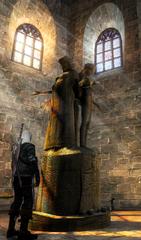 Melitele statue