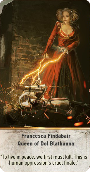 File:Tw3 gwent card face Francesca Findabair Queen of Dol Blathanna.png