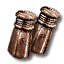 Tw3 copper salt and pepper shakers