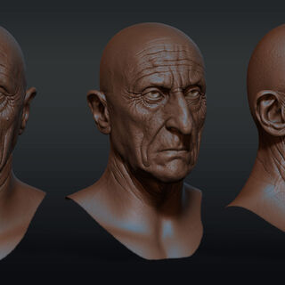 Face renders by Ovidiu Voica