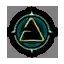 Game Icon Aard symbol unlit