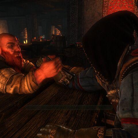 Шелдон Скаггс у грі Відьмак 2: Вбивці Королів