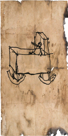 Tw3 drawing of a crib detail
