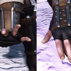 casting gesture in <i>The Witcher 3</i>.