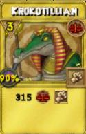 Krokotillian Treasure Card