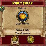 Q WC Pinky Swear 2