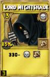 Lord Nightshade Treasure Card