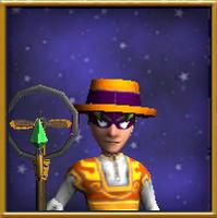 Hat Sprockets' Hat of the Feline Male