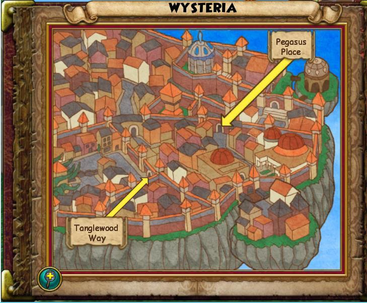 Wisteria Map